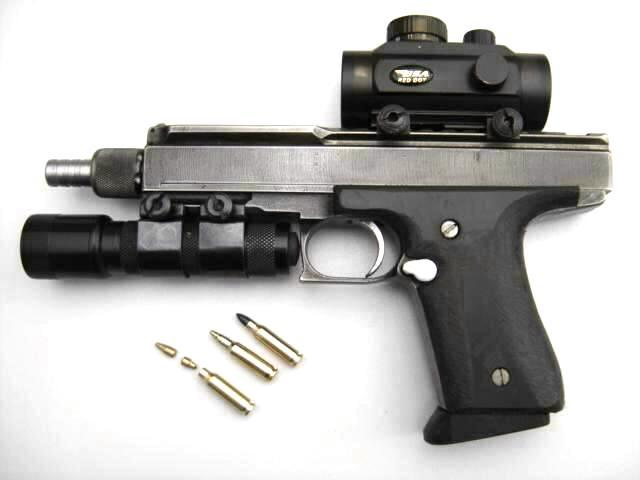 Van Bruaene aka VBR-Belgium model CQBR with custom projectiles