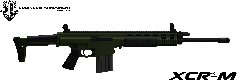 Robinson Armament XCR-M HB OD