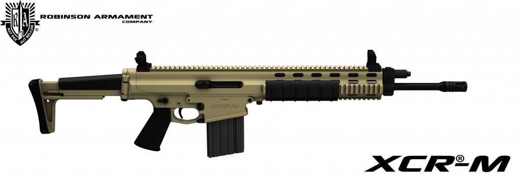 Robinson Armament XCR-M Tan