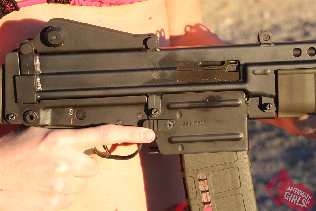 RobArm M96 with Atlas extended mag release