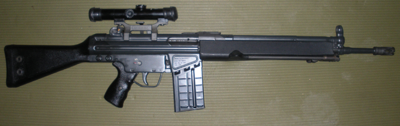 H&K-HK91(Hensoldt4xModel1scope)