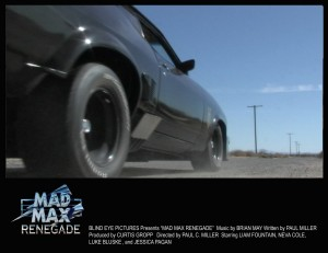 Mad Max Renegade Lobby Card 4