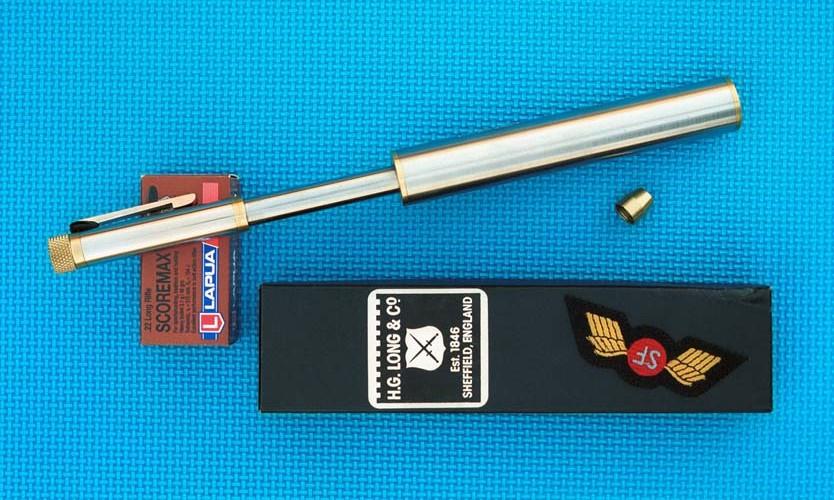 pen gun and silencer