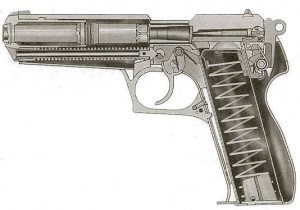 Steyr GB cutaway drawing