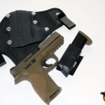 S&W M&P-9 VTAC with Mag Holder