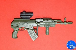 GIS Tactical AKM parts (folded)