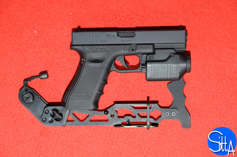 GIS Tactical Glock stock (folded)