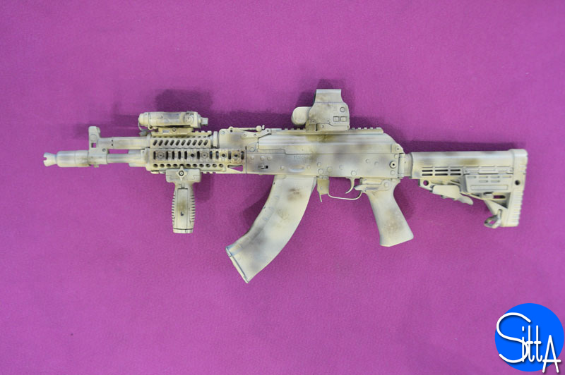 New AK-104 at Eurosatory 2014