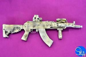 New AK-104 at Eurosatory 2014