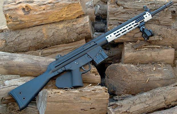 HK91 KeyMod Wojtek Weaponry