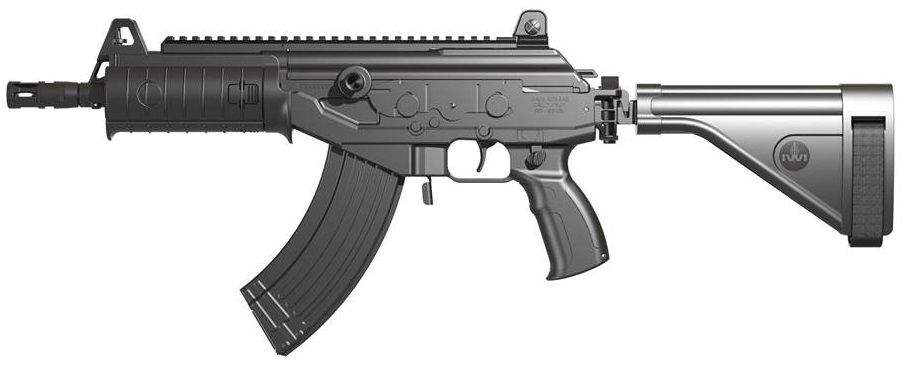 IWI Galil ACE with folding brace 2014