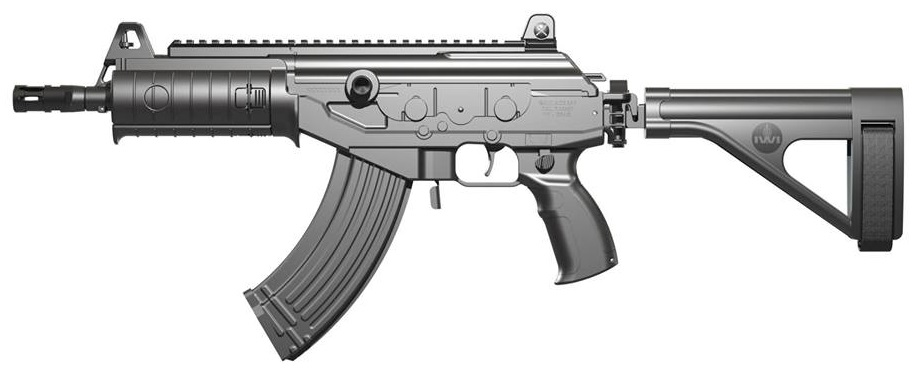 IWI Galil ACE with folding brace open-sides 2014