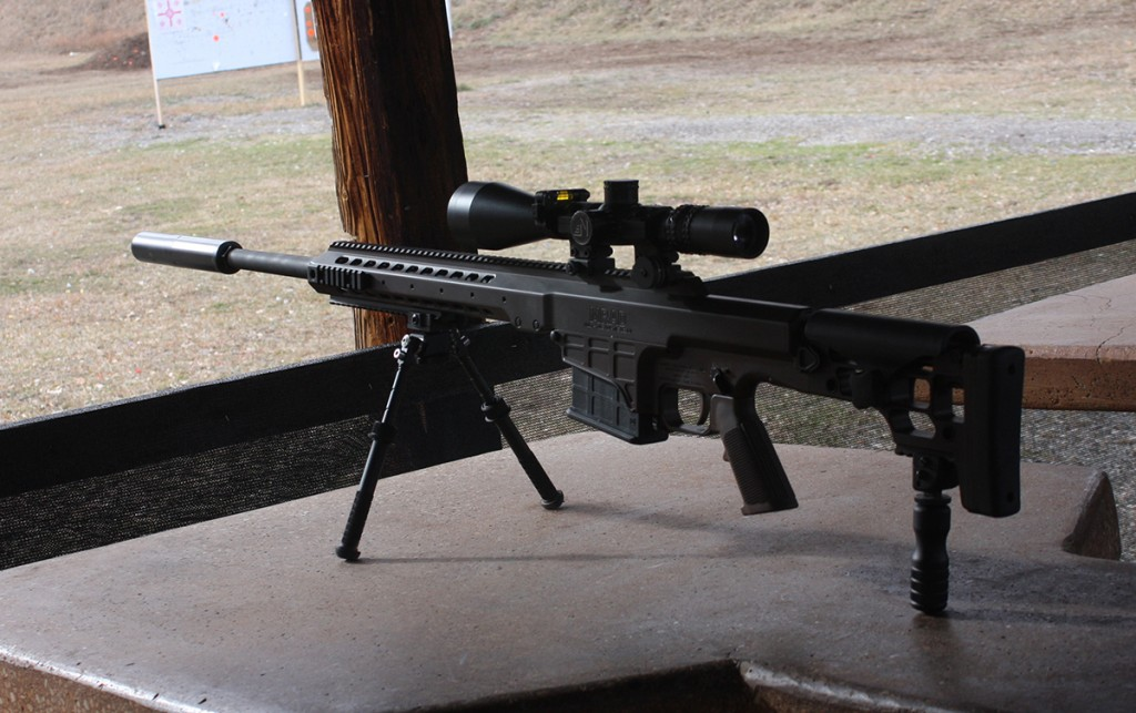 Dead Air Sandman-Ti on a Barrett MRAD