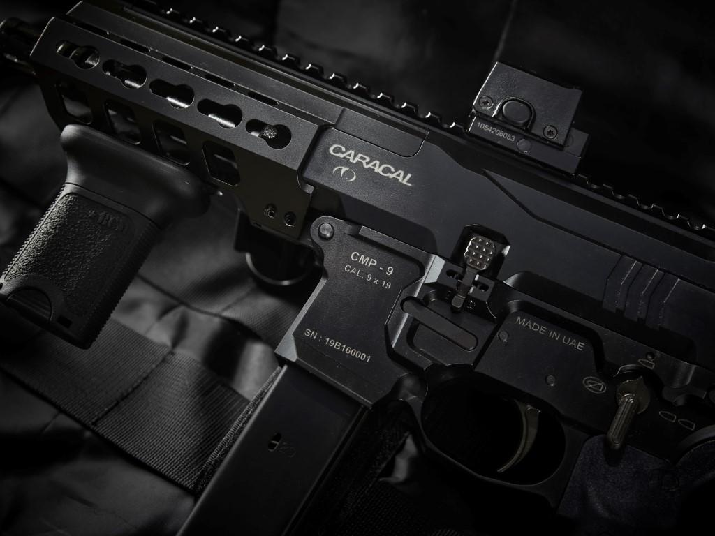 Caracal CMP-9 closeup